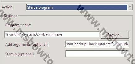 how to take image backup of windows server 2008