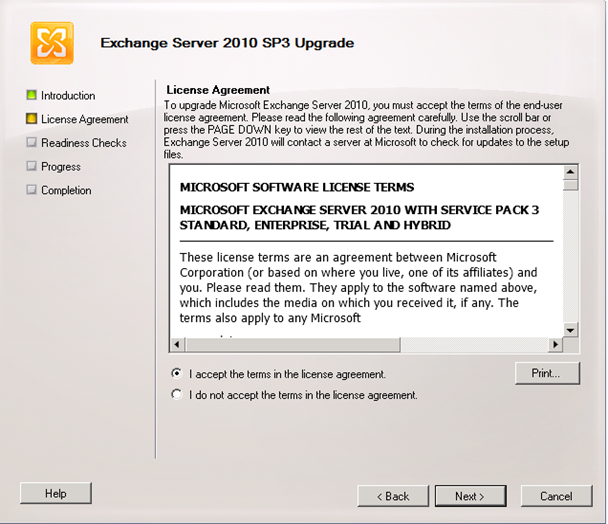 Exchange 2010 SP3 (Service Pack 3) Kurulumu