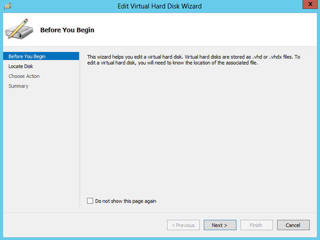 Windows 2012 Server'da Vhd Virtual Diskler Vhdx'e Nasıl Convert Edilir?
