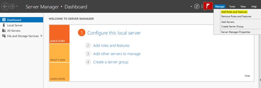 Server 2012'de DFS (Distributed File System) Kurulum ve İlk Ayarları