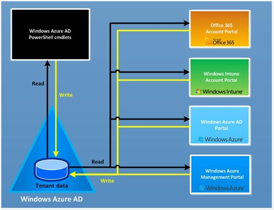 Windows Azure Active Directory Nedir? (WAAD)