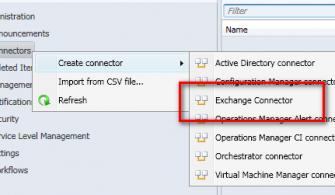 Service Manager Exchange Connector Kurulumu ve Ayarları