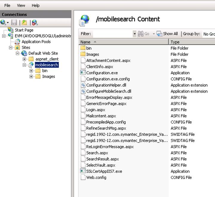 Symantec Enterprise Vault Mobile Search Nedir?