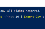 Microsoft PowerShell – Importing Data – Bölüm 5