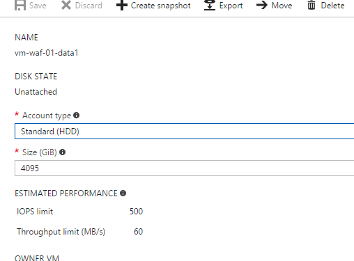 Azure Largest Diskler (4TB'lık Diskler) Preview Olarak Duyuruldu