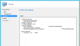 System Center Configuration Manager 1710 OMS Connector Yapılandırması