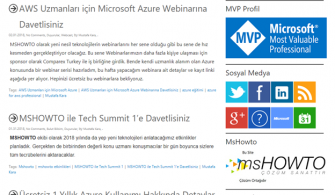 WordPress Blogun Azure App Services'e Taşınması