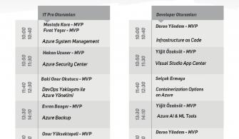 Global Azure Bootcamp 2018 Istanbul Etkinliğini Kaçırmayın