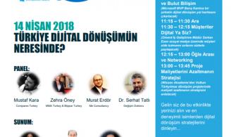 Türkiye Dijital Dönüşümün Neresinde Etkinliğine Davetlisiniz