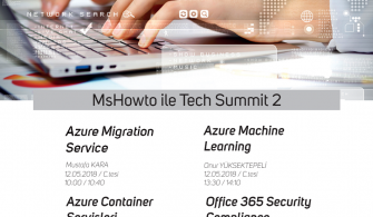MSHOWTO ile Tech Summit 2'e Davetlisiniz