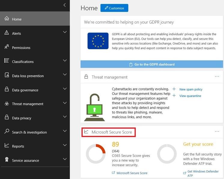 Office 365 Secure Score Nedir?