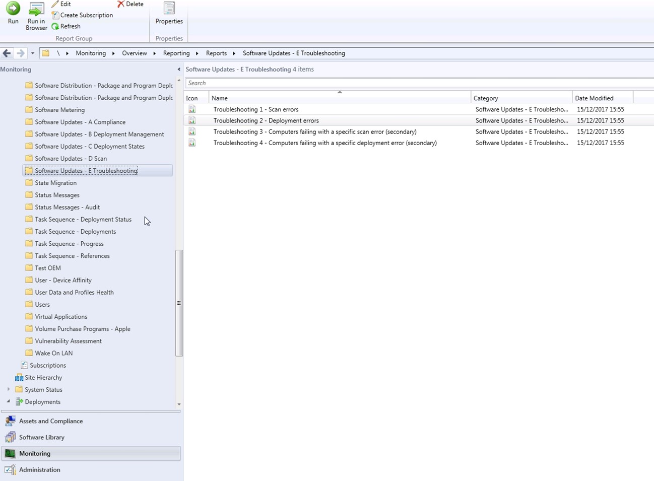 SCCM Software Updates Deployments Troubleshooting -1