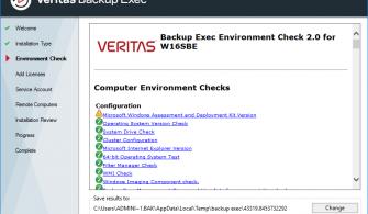 Veritas Backup Exec 20.1 Kurulumu