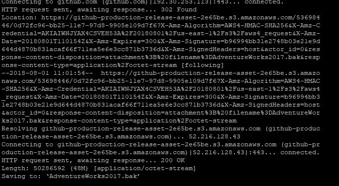 SQL Server Restore on Docker