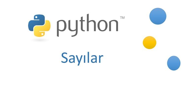 Python'da Sayılar – Python 04