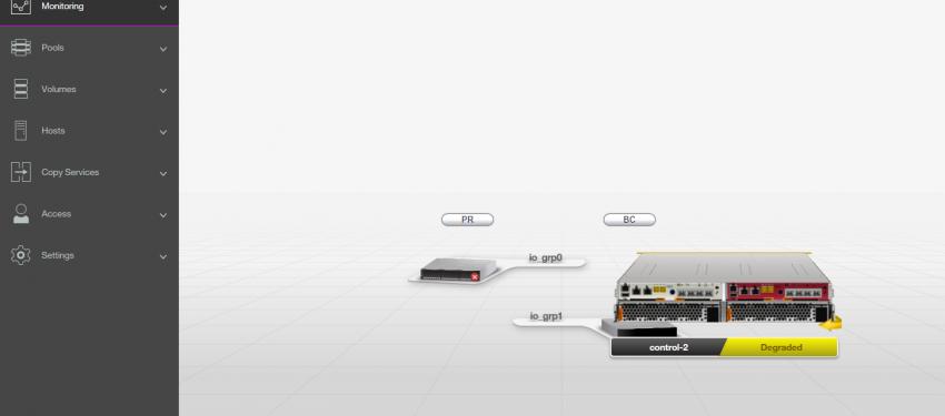 IBM Storwize V5030 System Update