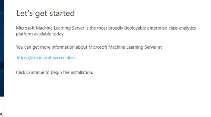 Windows Server 2016 Üzerine Offline Machine Learning Server 9.3 Kurulumu