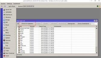 Mikrotik RouterOs Upgrade Adımları