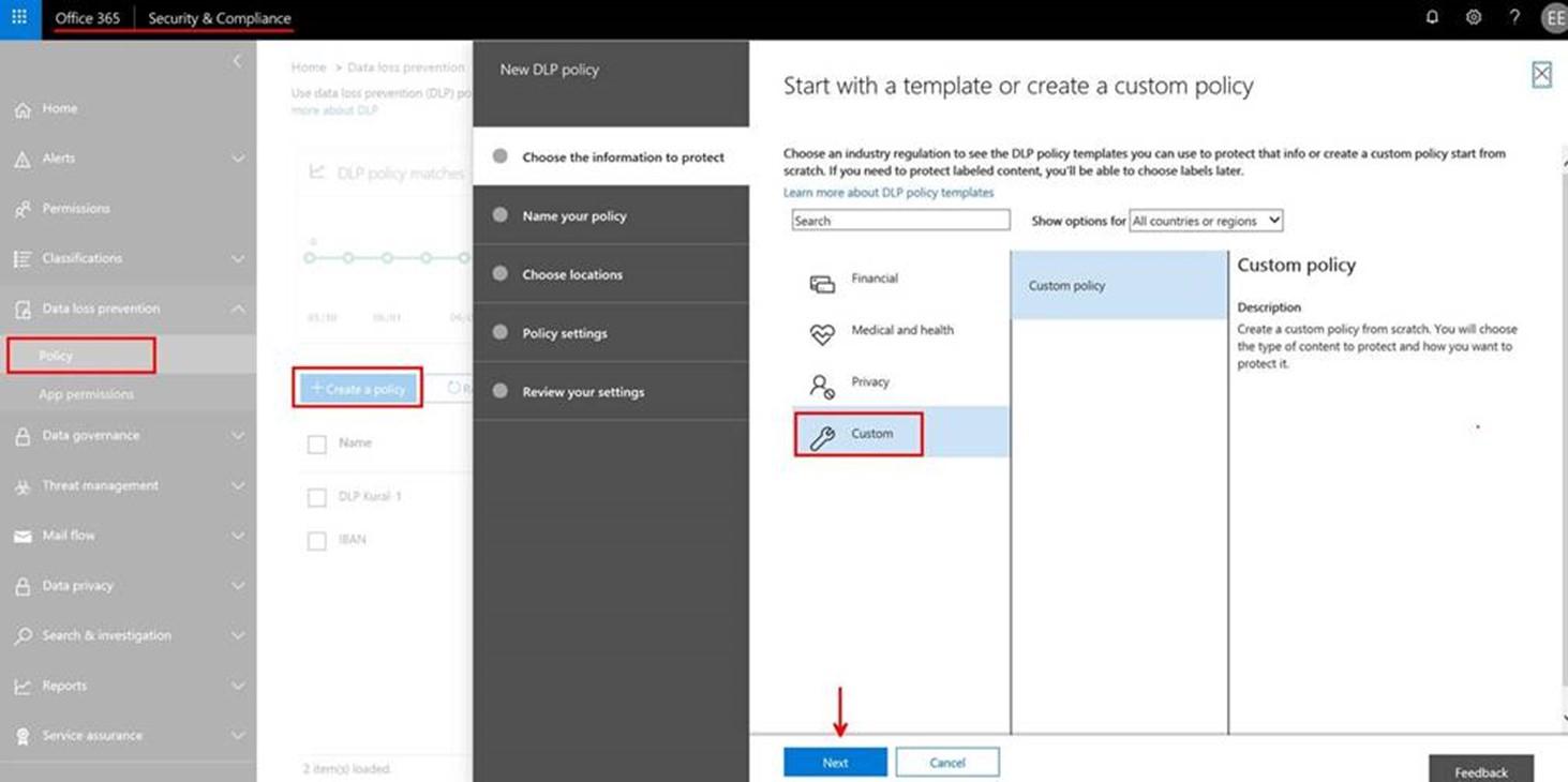 Office 365 Custom DLP ile Regex Kuralları Nasıl Oluşturulur? Part-2