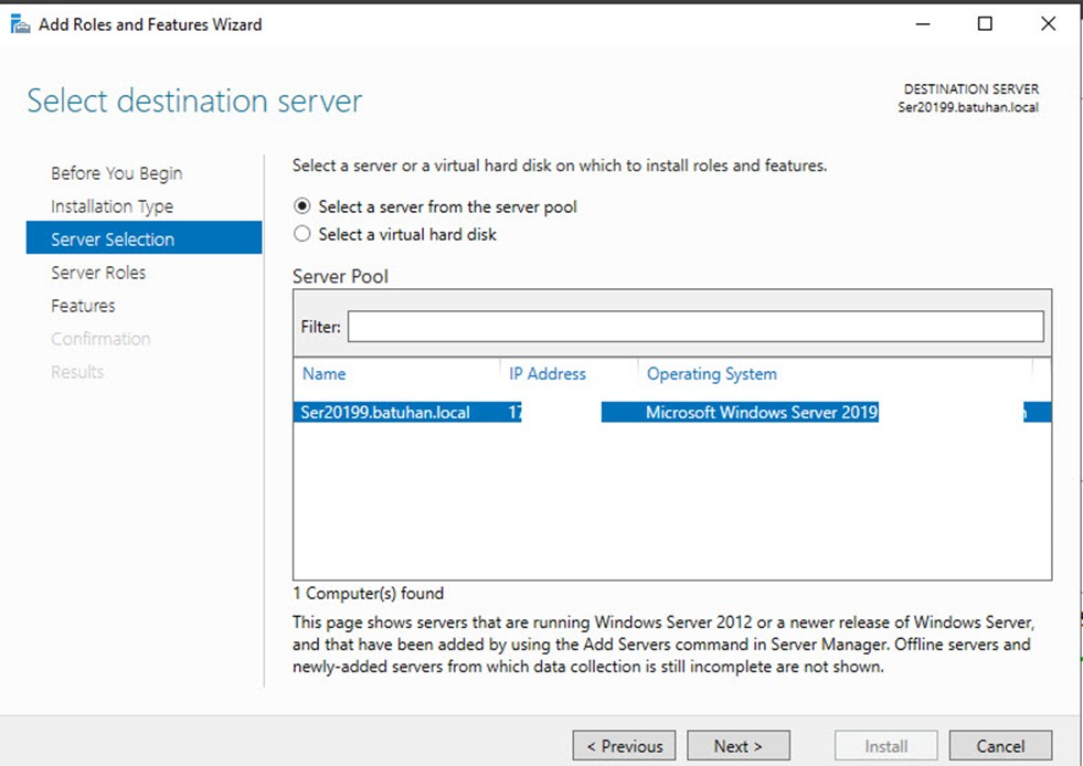 Windows Server 2019 Print Server Kurulumu ve Ayarları