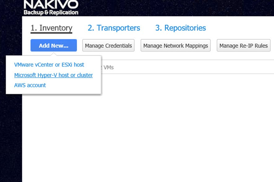 NAKIVO Backup & Replication ile İki Farklı Lokasyon Arasında Hyper-V Replikasyonu