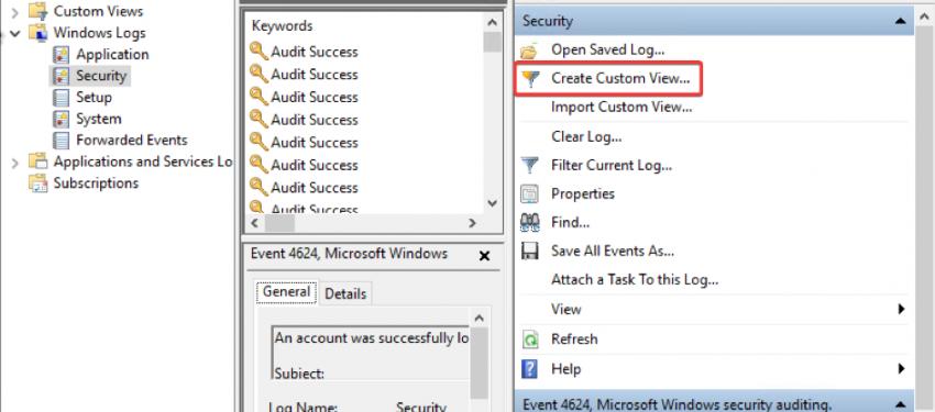 Event Viewer XML Filtering ile Log Analizi