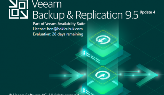 Veeam Backup & Replication v9.5 Update 4 Kurulumu