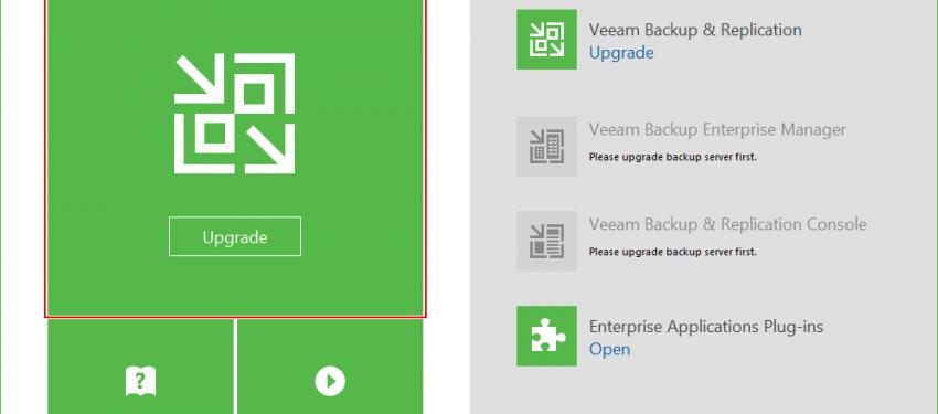 Veeam Backup & Replication v9.5 Üzerinde Update 4 Geçişi
