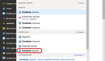 Yazılım Geliştiriciler için Azure: Azure Container Registry