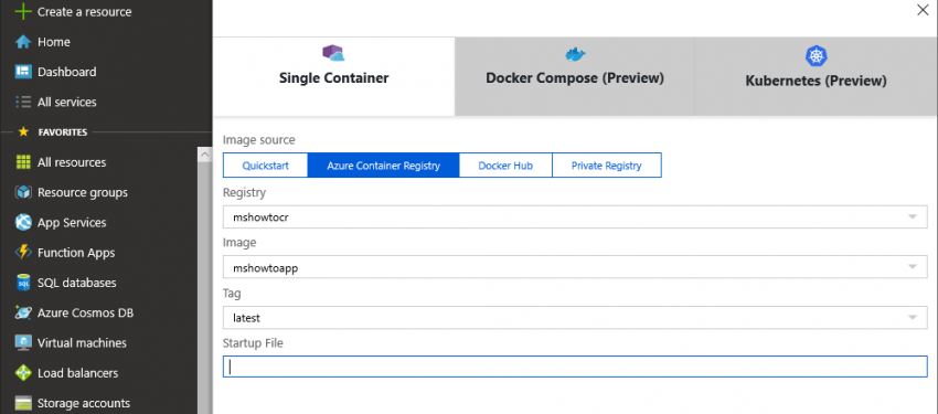 Yazılım Geliştiriciler için Azure: App Services – Bölüm 5 (Docker Image)