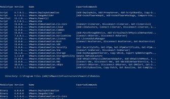 VMware PowerCLI PowerShell  ile Nasıl Kurulur