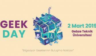GeekDay Etkinliği Medya Sponsoruyuz