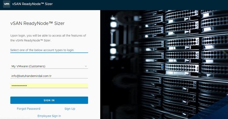VMware vSan Kapasite Boyutlandırma