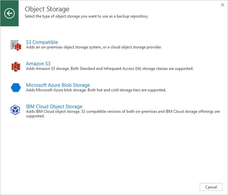 Veeam Backup & Replication v9.5 Update 4 Backup Repository Ekleme