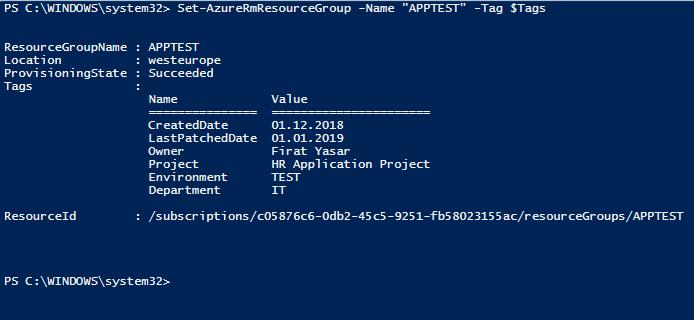 Designing Azure Tags Nedir?