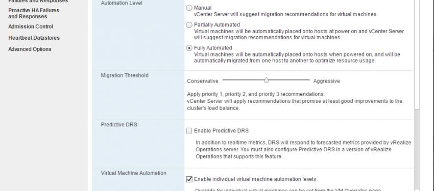 VMware DRS Kullanımı