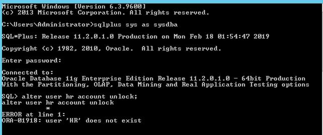 Oracle DB HR Veritabanı Nedir ve HR User Oluşturma Nasıl Yapılır?
