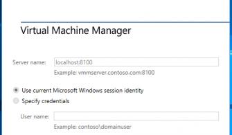 System Center Virtual Machine Manager 2016 – Bölüm 5