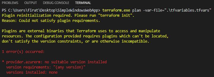 Terraform – Part 2 – Update Azure Resources