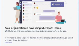 Skype for Business'ı Teams'e Yükseltme