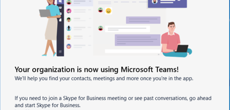 Skype for Business'ı Teams'e Yükseltme