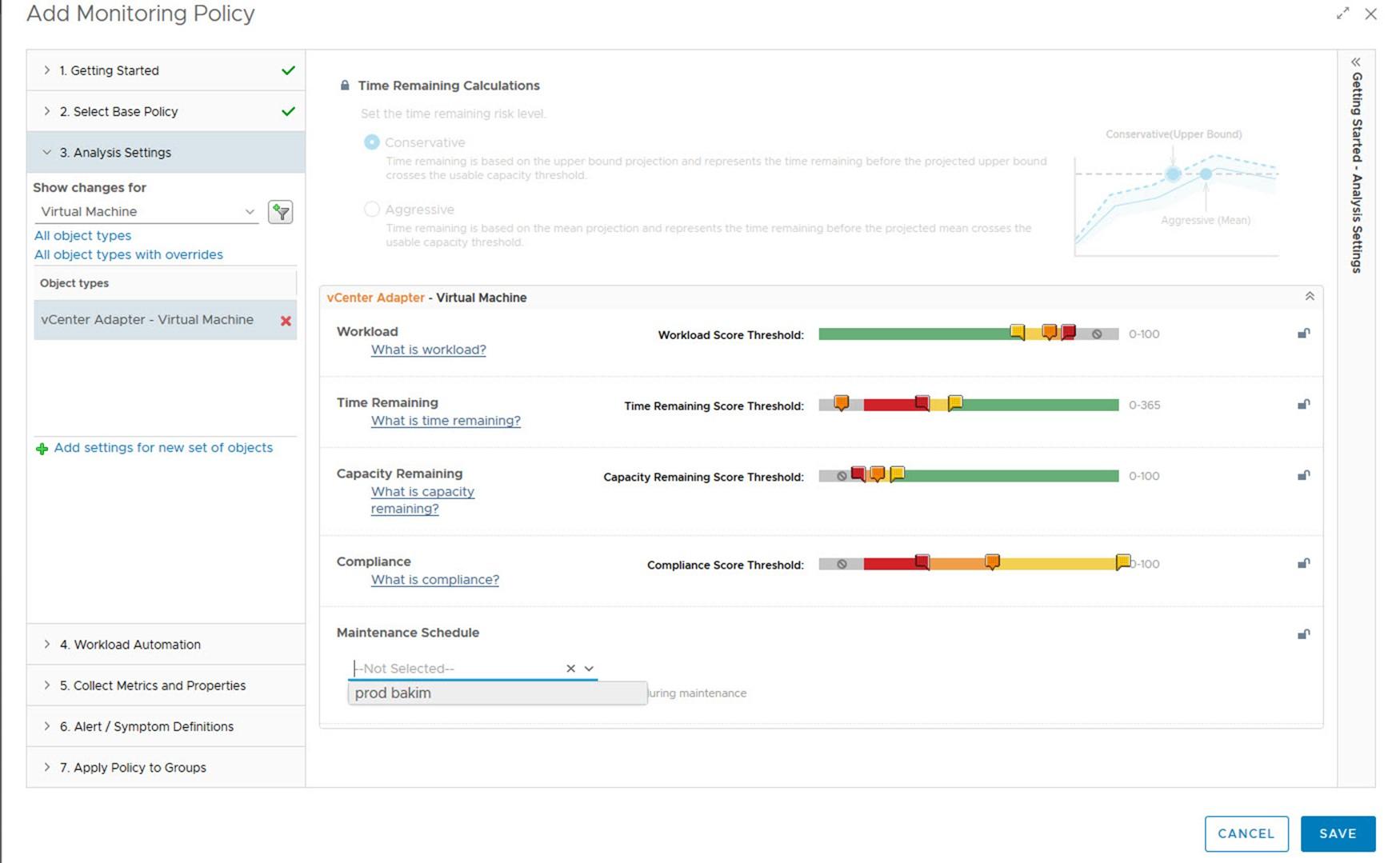 vRealize Operations Manager Bakım Modu