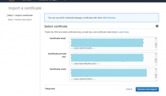 SSL Sertifikasının IIS Serverdan AWS Certificate Manager Konsoluna Aktarılması