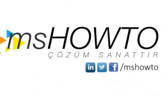 MSHOWTO Haftanın Özeti : 19 | 21
