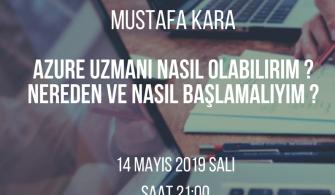 Mshowto Webcast'leri Devam Ediyor, Azure Uzmanı Nasıl Olabilirim ? Nereden ve Nasıl Başlamalıyım ?