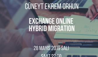 Mshowto Webcast'leri Devam Ediyor Exchange Online Hybrid Migration