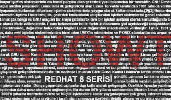Red Hat 8 | Web Konsolu aktif etme ve Temel kullanımı