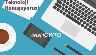 MSHOWTO Teknoloji Sohbetleri – Bu Hafta Koşuyolundayız