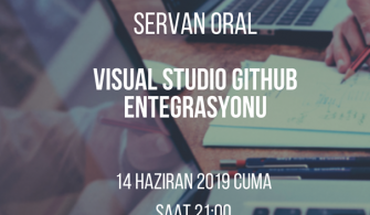 Mshowto Webcast'leri Devam Ediyor Visual Studio Github Entegrasyonu