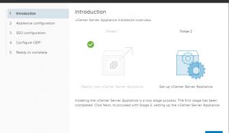 vCenter Server Appliance 6.7 Kurulumu Bölüm-2